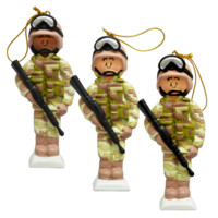 Female Digital Cammies Ornament - Ornaments & Decor - Holiday - Seasonal - Gifts | The Marine Shop