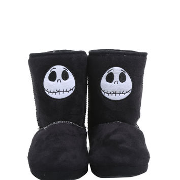 The Nightmare Before Christmas Jack Head Slipper Boots