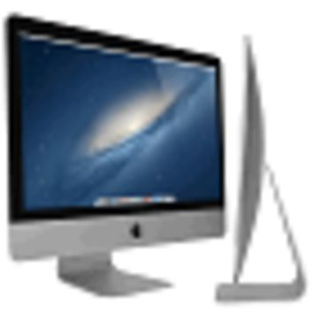 "Apple iMac 27"" Core i7-3770 Quad-Core 3.4GHz All-in-One Computer - 16GB 1TB GeForce GTX 675MX/OSX (Late 2012) - B"