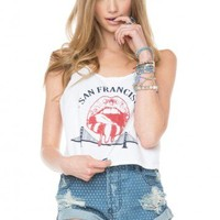 Brandy ♥ Melville |  Mirella San Francisco Tank - Just In