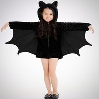 Girls Bat Halloween Costume