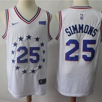 Philadelphia 76ers Ben Simmons 2018/19 Swingman Jersey ¨c Earned Edition