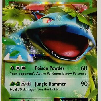 Pokemon VENUSAUR EX 1/108 ULTRA RARE HOLO XY Evolutions TCG HOT CARD NM FRESH!