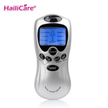 Body Tens Acupuncture Digital Therapy Massager Machine Electronic Pulse Back Neck Muscle Stress Pain Relief Massage Body Therapy