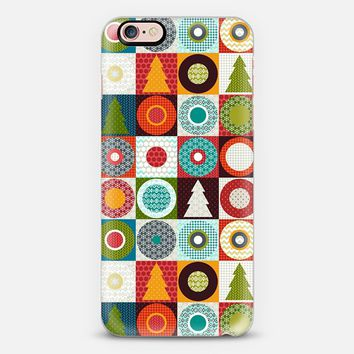 geo christmas iPhone 6s case by Sharon Turner   Casetify