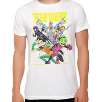 DC Comics Teen Titans Group Slim-Fit T-Shirt
