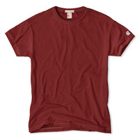 Short Sleeve T-Shirt in Crimson