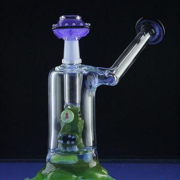 "Empire Glassworks ""UFO"" Mini Rig"
