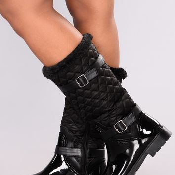 Cold Weather Boot - Black