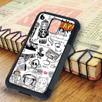 Tatto Collage Drawing One Direction Samsung Galaxy S5 Case