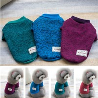 Warm Cotton Hoodies Dog Clothes & Cat Clothes
