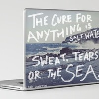 Salt Water Laptop & iPad Skin by Leah Flores | Society6