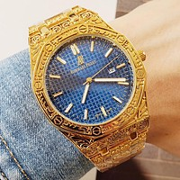AP Audemars Piguet Fashion Hot Quartz Classic Watch Women Men Retro Wristwatch