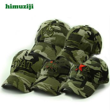 Trendy Winter Jacket Spring Summer Mens Army Camouflage Camo Cap Cadet Casquette Desert Camo Hat Baseball Cap Hunting Fishing Blank Desert Hat AT_92_12