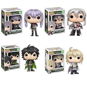 Seraph of the End Pop! Vinyl Figure Set of 4