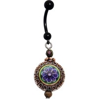 Handcrafted Antique Mood Belly Ring