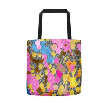 Dot to Unknown Tote bag