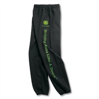 John Deere Black sweatpants and more sweats.