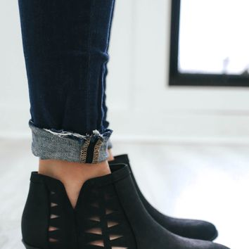 Tried & True Booties - Black