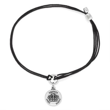 Queen's Crown Pull Cord Bracelet