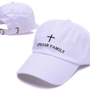 White Upsoar Family Funny Baseball Cap Hat Hip Hop Alien Dad Hat respect Strapback Fishing Daddy Cap Adjustable Strap Back Trucker Bone
