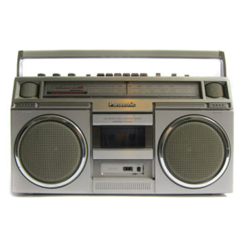 Three Potato Four - PANASONIC RX 5030 AM FM CASSETTE RADIO BOOMBOX