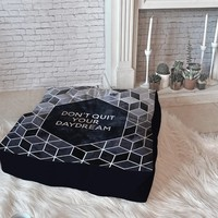 Elisabeth Fredriksson Dont Quit Your Daydream Floor Pillow Square