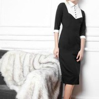 Calla Lilly in Pencil Dress  - Custom Sizing