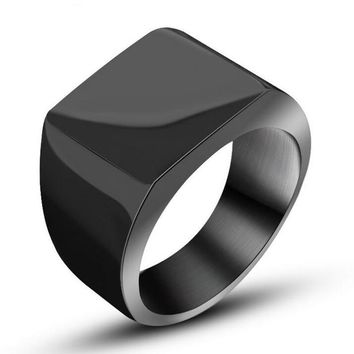 Solid Stainless Steel Ring