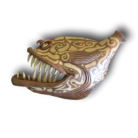 Giant Tribal and Toothy - Fish with Attitude - Fish With Attitude by Mike Quinn