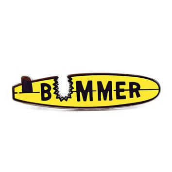 Bummer Surfboard Pin