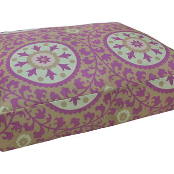 Suzani Bed, Violet, Pet Beds