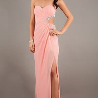 Faviana 7122 Ashley Benson Strapless Gown