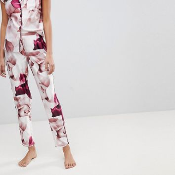 B By Ted Baker Porcelain Rose Printed Pyjama Pant at asos.com