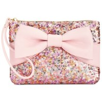 Betsey Johnson Macy's Exclusive Boxed Sequin Wristlet | macys.com