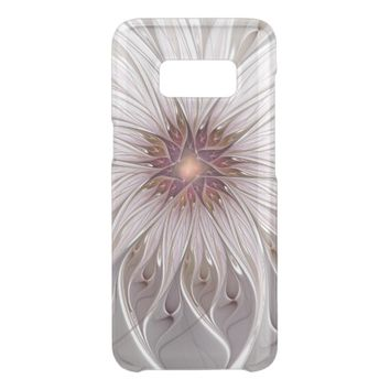 Floral Fantasy, Abstract Modern Pastel Flower Get Uncommon Samsung Galaxy S8 Case