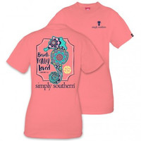 *Simply Southern Tee- Seahorse