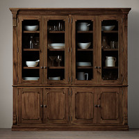 St. James Double Sideboard & Hutch