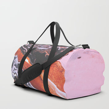 soul mate Duffle Bag by DuckyB