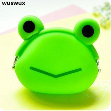 NEW Silica gel animal coin purses holders kawaii bag change purse baby children wallet fashion cute coin children's purses