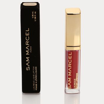 Sam Marcel Liquid Lipstick - Rouge