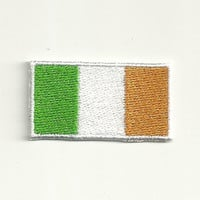 Small Irish Flag Patch! Custom Made! F19
