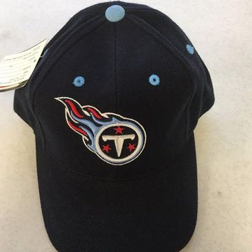 DCCKIHN BRAND NEW TENNESSEE TITANS NAVY PUMA NAVY SNAPBACK ADJUSTABLE HAT SHIPPING