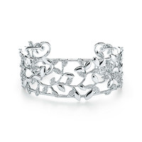 Tiffany & Co. - Paloma Picasso®:Olive Leaf Narrow Cuff