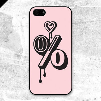 iPhone 5 case - A hundred per cent love : Powder pink - also available in iPhone 4 and iPhone 4S size