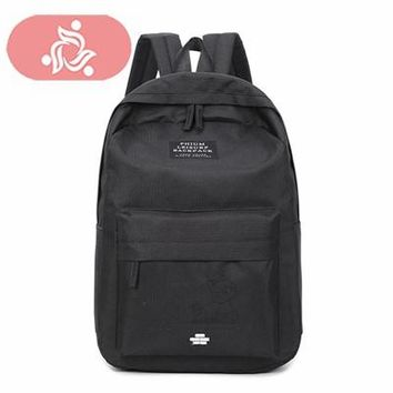 University College Backpack Brand National Women  Nylon  Students School Bag Fashion Girls Female Embroidered Bag Travel MochilaAT_63_4