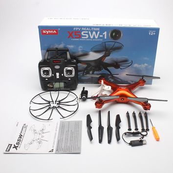 Professional Drones SYMA X5SW Drone With Wifi FPV Camera RC Helicopter RC Quadcopter Syma X5C Quadrocopter Upgraded Version