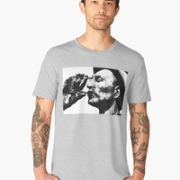 'Heat' Men's Premium T-Shirt by BlackLineWhite