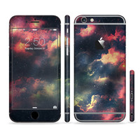 The Vintage Stormy Sky Sectioned Skin for Most Mobile Devices (Choose your device)