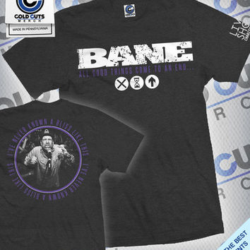 "Cold Cuts Merch - Bane ""Live Shot Charity"" Shirt"